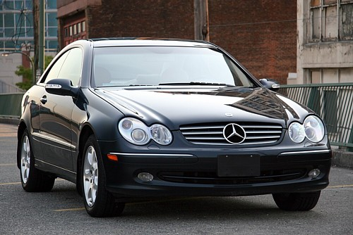 Mercedes Clk 320 Coupe. 2003 MERCEDES-BENZ CLK320